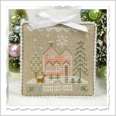 Glitter House 6 - Glitter Village from Country Cottage Needleworks