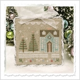 Glitter House 3 - Glitter Village from Country Cottage Needleworks