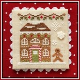 Gingerbread House 8 ~ Chart #11 Gingerbread Village from Country Cottage Needleworks
