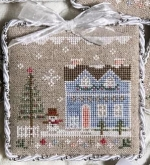 Glitter House 9 - Glitter Village from Country Cottage Needleworks