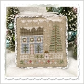 Glitter House 1 - Glitter Village from Country Cottage Needleworks