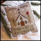 Let Us Adore Him ~ Chart #6 Classic Ornaments Collection from Country Cottage Needleworks
