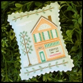 Coffee Shop #4 ~ Main Street Series from Country Cottage Needleworks