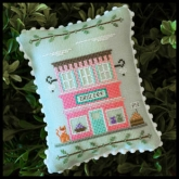 Grocery #8 ~ Main Street Series from Country Cottage Needleworks