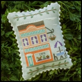Main Street Cafe #7 ~ Main Street series from Country Cottage Needleworks
