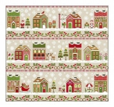 Santa's Village Series from Country Cottage Needleworks