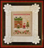 Santa's House ~ Santa's Village Chart #1 ~ Country Cottage Needleworks