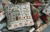 Summer Schoolhouse ~ Lesson #3 in Abecedarian ~ Country Stitches/Brenda Gervais