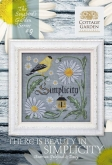 There is Beauty in Simplicity~#9 Songbird's Garden series ~ Cottage Garden Samplings