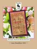 Jean Donaldson 1826 ~ Antique Sampler of the Month Jan'21 ~ Cross Stitch Antiques