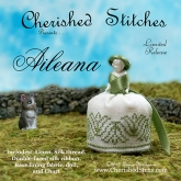 Aileana Miniature Pin Cushion Doll kit from Cherished Stitches ~ Nashville 2018