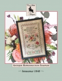 Innocence 1840 from Cross Stitch Antiques ~ Nashville 2019