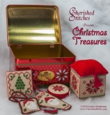 Christmas Treasures Kit from Cherished Stitches ~ Nashville 2020 ~ 2 only!