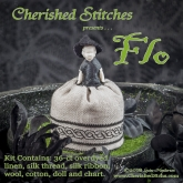 Flo Miniature Pin Cushion Doll kit from Cherished Stitches