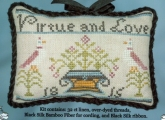 Virtue and Love ~ Limited Edition Kit from Cherished Stitches ~ Nashville 2017