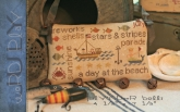 July - Word Play from Country Stitches/Brenda Gervais
