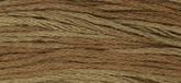 Cocoa ~ 1233 ~ Hand dyed cotton floss from Weeks Dye Works ~ 5 yd skeins