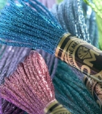 DMC Light Effects Metallic Embroidery Floss
