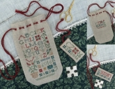 Sampler Sack & Scissors Tag from the Drawn Thread
