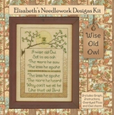 Wise Old Owl ~ kit from Elizabeth's Designs