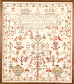 The Elisabeth Cross Sampler kit from The Examplarery/ Joanne Harvey ~ temporarily out of stock