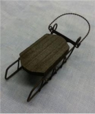 Ornament Sled from Foxwood Crossings