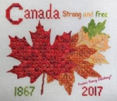 Canada Strong and Free from Freda's Fancy Stitching