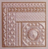Golden Ivory from Freda's Fancy Stitching ~ 1 only!