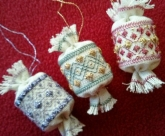 Little Christmas Hang-Ups from Freda's Fancy Stitching