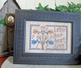 Let your Heart Sing ~ From the Heart ~ Needleart by Wendy