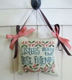 Sisters ~ From the Heart ~ Needleart by Wendy