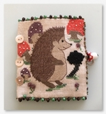 Herman Hedgehog Needle Case ~ Kit from Fern Ridge Collections ~ Nashville 2017