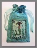 Summer Angel (A Mermaid) Scissor Bag kit from Fern Ridge Collections