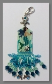 Summer Angel (A Mermaid) Scissor Fob kit from Fern Ridge Collections