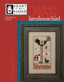 Wee One ~ Farmhouse Bird from Heart in Hand