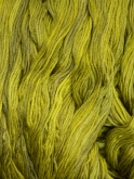 Chartreuse ~ Ltd. Edition ~ Sampler Thread hand dyed cotton floss/Gentle Art ~ 5 yd