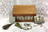 Azulejos Sewing Casket - A Portuguese Box from Giulia Punti Antichi / GPA ~ 1 only!