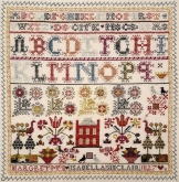 Isabella Sinclair 1827 ~ A Scottish Sampler  ~ Giulia Punti Antichi / GPA Designs~ Nashville 2019