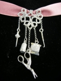 Roberta's Sterling Silver Chatelaine from Tombolomania
