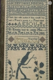 Betty Taylor 1794 Sampler~ Cissy Bailey Smith/Gentle Pursuits Designs ~ Nashville 2019