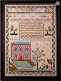 Mary Otter 1792 Sampler ~ Cissy Bailey Smith/Gentle Pursuits Designs ~ Nashville 2019