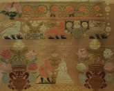 The Betrothed ~ Reproduction Sampler  from Gigi R Designs