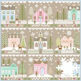 Glitter Village ~ 9 Part Series from Country Cottage Needleworks