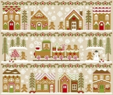 Gingerbread Village ~ 11 part series Collector Program from Country Cottage Needleworks