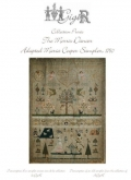 The Morris Dancer Adapted Maria Cooper Sampler 1790 from Gigi R