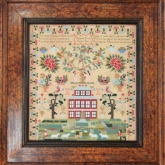 Elizabeth Furniss 1836 ~ Reproduction Sampler from Hands Across the Sea Samplers