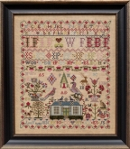 Jane Fiddes 1835 from Hands Across The Sea Samplers ~ most items now in stock
