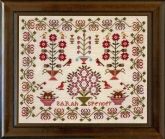 Sarah Spencer 1870 ~ A Little Gem from Hands Across the Sea Sampler