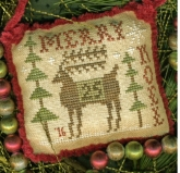 Merry Deery - 2016 Annual Sampler Ornament from Homespun Elegance