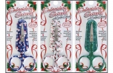 Holiday Embroidery Scissors in 3 styles from Allary Corp. (2019)